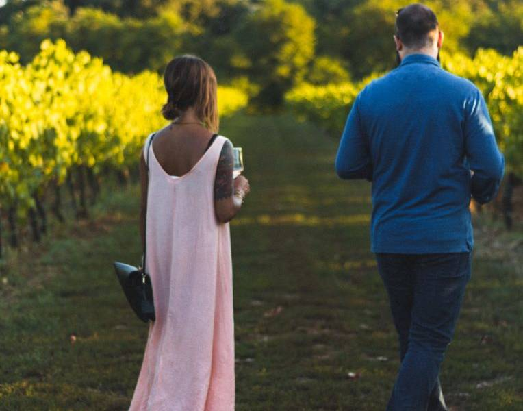 un'esperienza romantica tra le vigne: la dolce vita