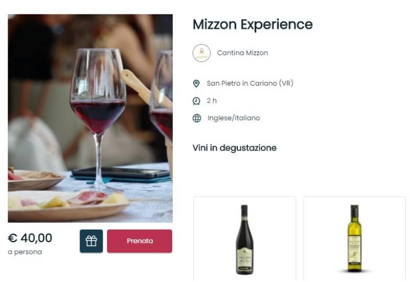 una degustazione di vini per natale da regalare con l'opzione regala un'esperienza
