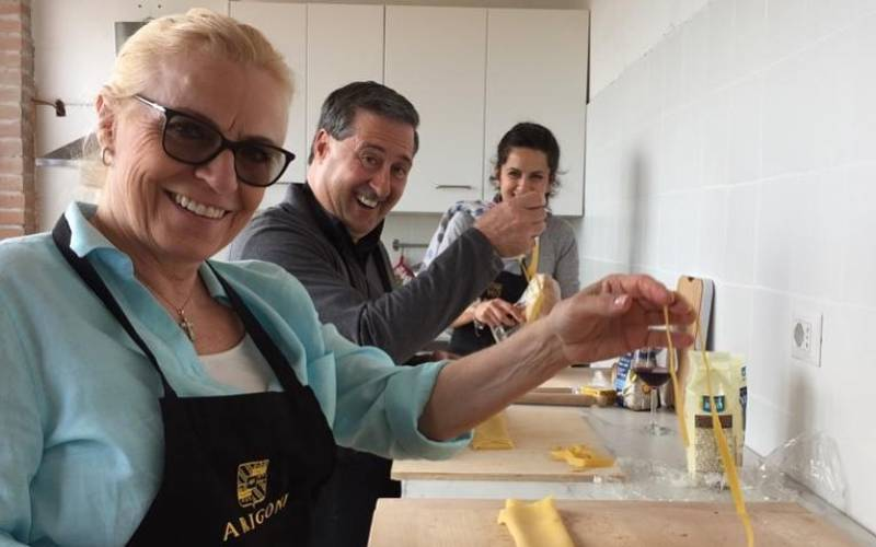 cooking class con arrigoni per la festa del papa